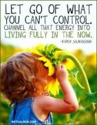What we can't control