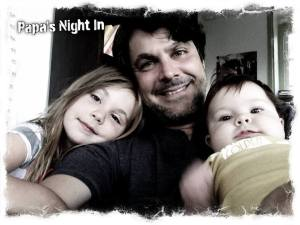 papa and girls