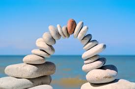 image, balance stones