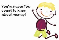 teach the young about money