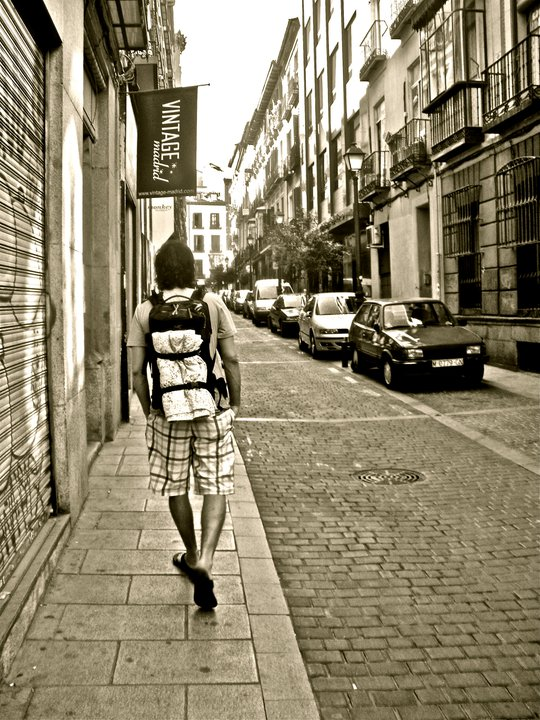 travel (ck backpack spain)