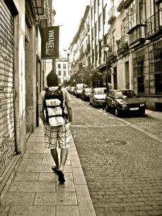 travel (ck backpack spain)